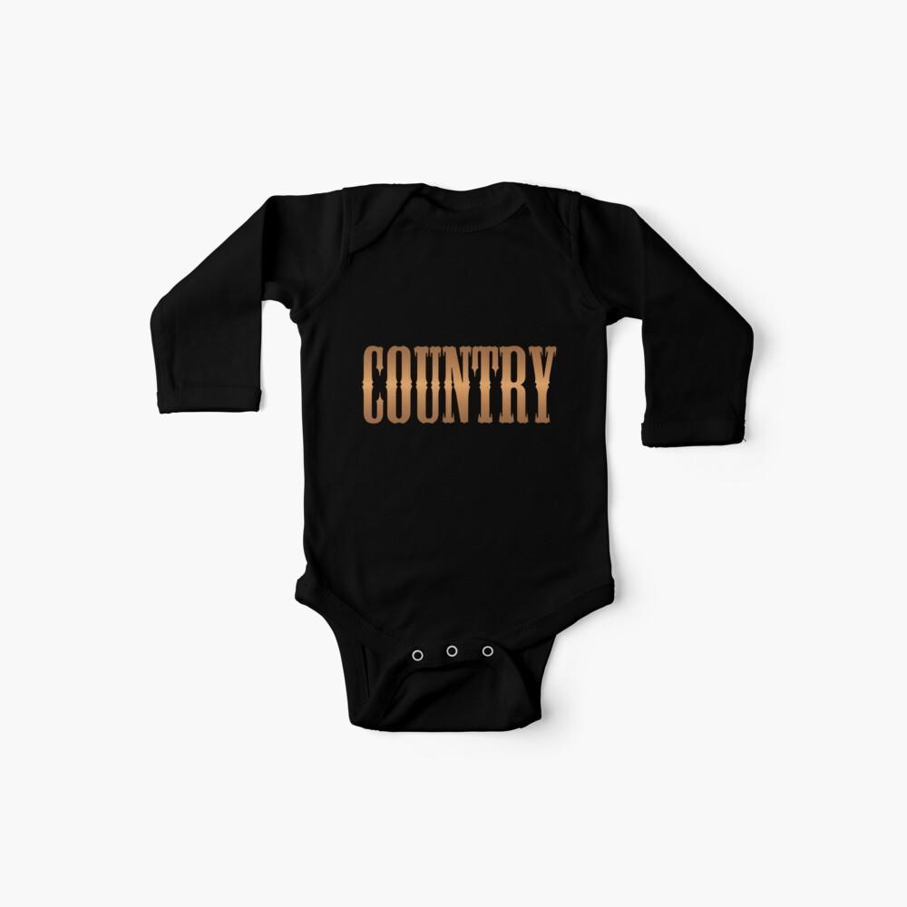 Country-Musik Kupfer Baby Body