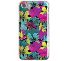 summernight / floral pattern iPhone Case/Skin