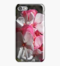 The Geraniums iPhone Case/Skin