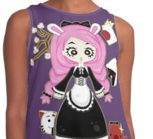 Cosplay Girl by Lolita Tequila Contrast Tank