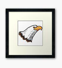 Bald Eagle Mascot Framed Print