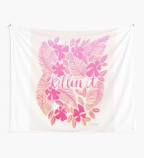 Killin' It – Pink Ombré Wall Tapestry
