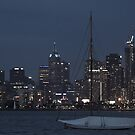 Melbourne on the Bay by brendanscully