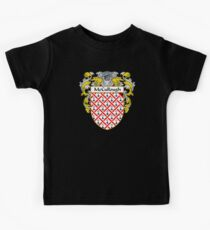McCullough Coat of Arms/Family Crest Kids Tee