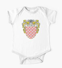 McCullough Coat of Arms/Family Crest One Piece - Short Sleeve