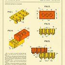 BUILDING BRICKS 1961 by JazzberryBlue