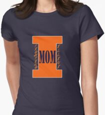 Fighting Illini Mom Women's Fitted T-Shirt