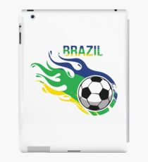 Brazil Brasil Soccer Ball iPad Case/Skin