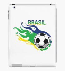 Brasil Futebol - Brazil Soccer Ball iPad Case/Skin