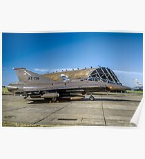 SAAB TF-35 Draken 351156 AT-156 Poster