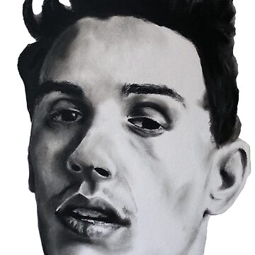 JAMES FRANCO DRAWING by zoeandsons