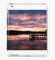 Sky turns the morning blue iPad Case/Skin