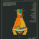 SPACE CAPSULE PATENT (1963) by JazzberryBlue