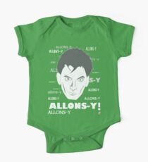 ALLONS-Y! One Piece - Short Sleeve