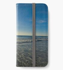 San Diego Beach With The Sun iPhone Wallet/Case/Skin