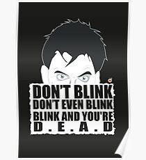 DON'T BLINK! Poster