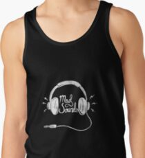 Mad Sounds White Tank Top