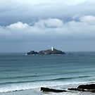 Godrevy Lighthouse, Cornwall by Linda Marques