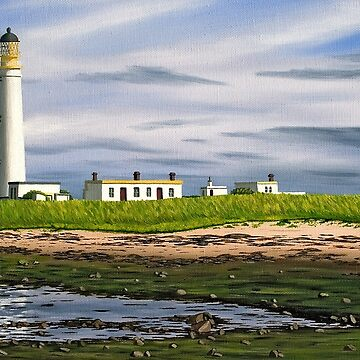 Barns Ness Lighthouse, Scotland by LindaMarques
