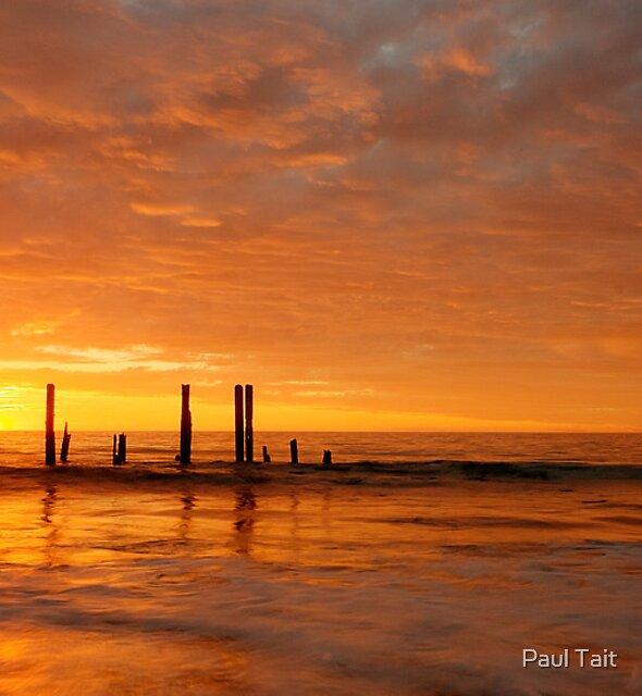 Port Willunga Jetty by Paul Tait
