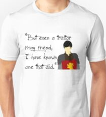 Edmund Pevensie Traitor Quote Unisex T-Shirt