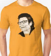 Jurassic Park - Dr. Ian Malcolm Unisex T-Shirt