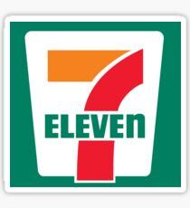 7-Eleven Sticker