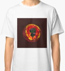 Flower in the globe Classic T-Shirt