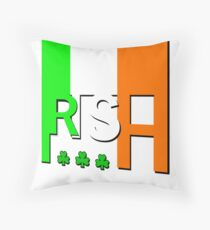 Gaeilge, Irish Flag Throw Pillow