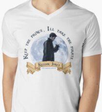 Keep the Prince, I'll take the Pirate - Killian Jones Men's V-Neck T-Shirt