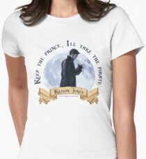 Keep the Prince, I'll take the Pirate - Killian Jones Women's Fitted T-Shirt