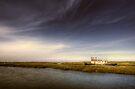 Tollesbury at High Tide by Nigel Bangert