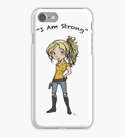 Beth: I Am Strong iPhone Case/Skin