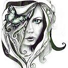Butterflies in her hair by deedeedee123