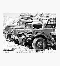Heavy metal trucks Photographic Print