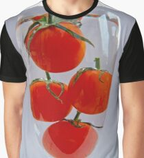 Tomatoes in a glass of water Graphic T-Shirt