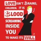 Love is Blood by Bloodysender