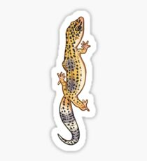 Pegatina Fastwalking Gecko leopardo normal - Vertical