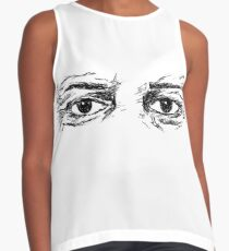 eyes Sleeveless Top