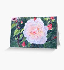 English Rose, by John Rees Greeting Card