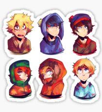 South park boys Sticker
