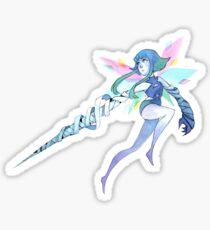 Angel Aura Quartz Sticker