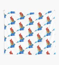 England - Map Of England By Sharon Cummings Wall Tapestry