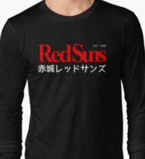 Initial D - Akagi RedSuns logo Long Sleeve T-Shirt