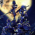 Kingdom Hearts phone case by boxheadz