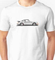 Porsche 911 Turbo (965) (white) T-Shirt