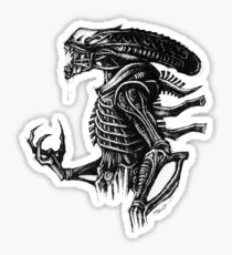 Sketchy Xeno Sticker