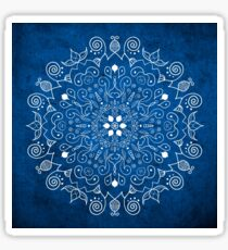 Mandala Blue Sticker