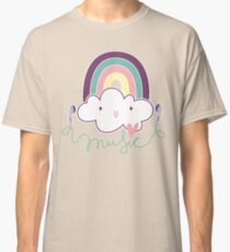 I Love Music Doodle Classic T-Shirt