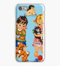 Boy Girl Angel iPhone Case/Skin